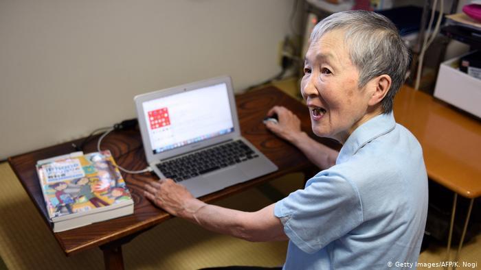 Elderly people in Fujisawa (Getty Images / AFP / K. Nogi)
