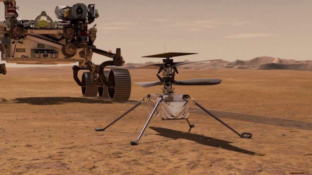 Ingenuity NASA Marte Perseverance problemas