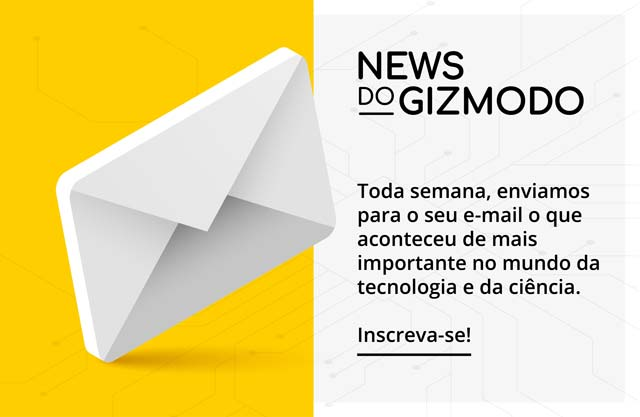 Select a newsletter do Gizmodo