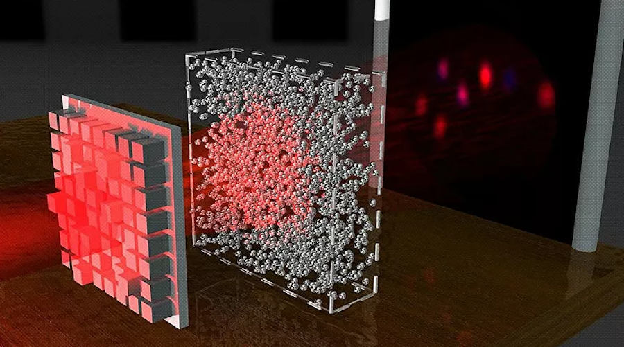 Scientists create waves of light that pass through opaque materials