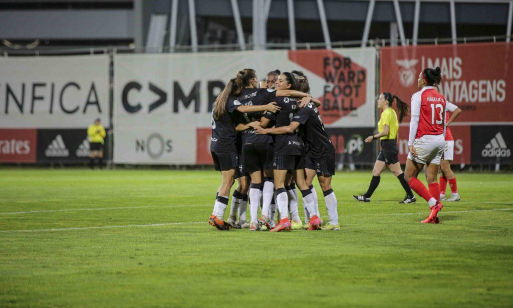 Benfica Braga BPI women's soccer