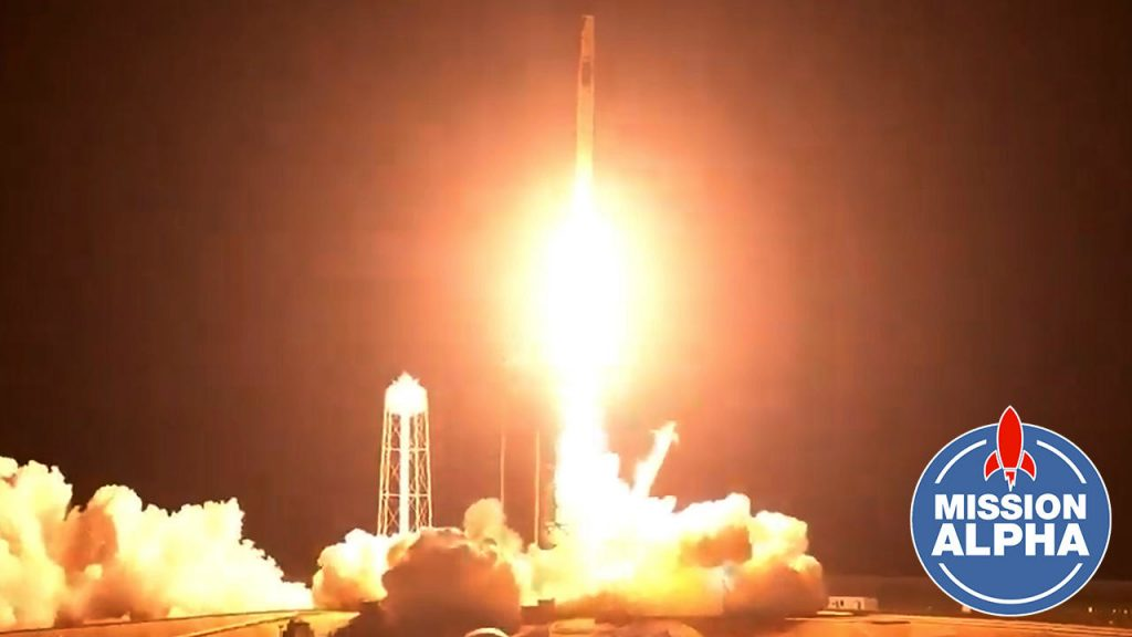 The SpaceX rocket took off successfully