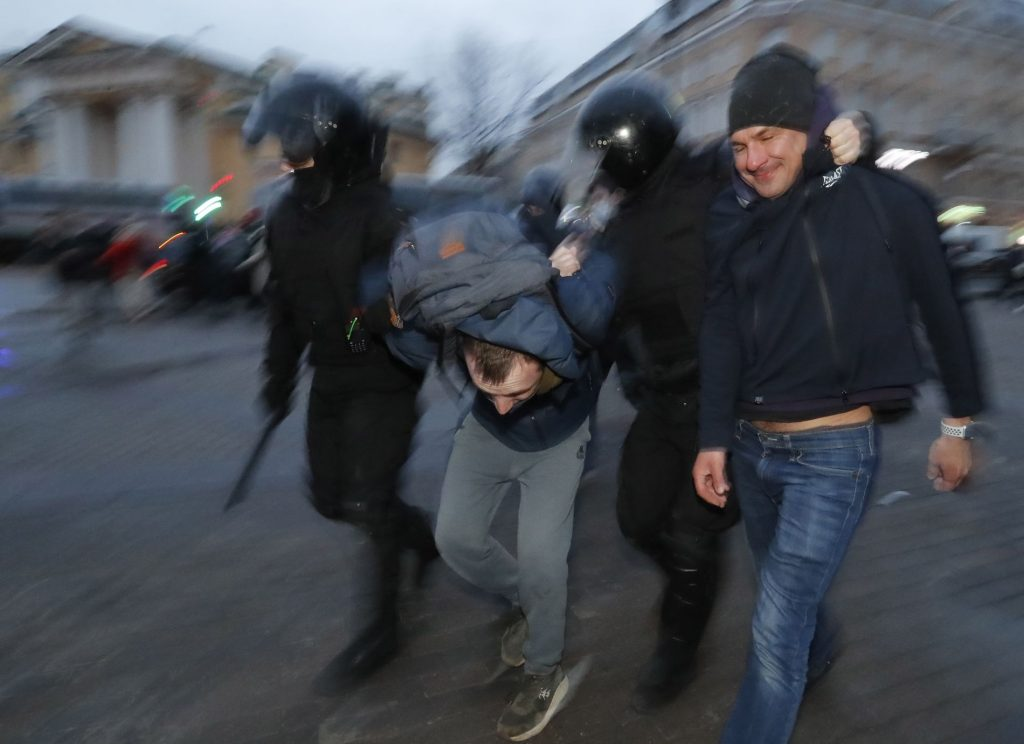 1770 arrested during demonstrations in Russia - VG
