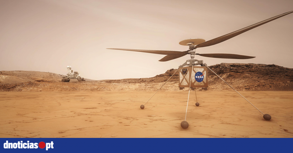 A NASA helicopter is ready for the first flight on Mars on Monday - DNOTICIAS.PT