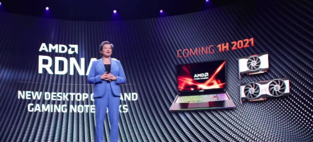 AMD confirms that the Radeon RX 6000 series laptop is still in 2021