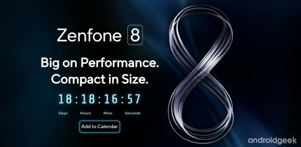 Asus ZenFone 8 series will be released on May 13th with a solid compact version