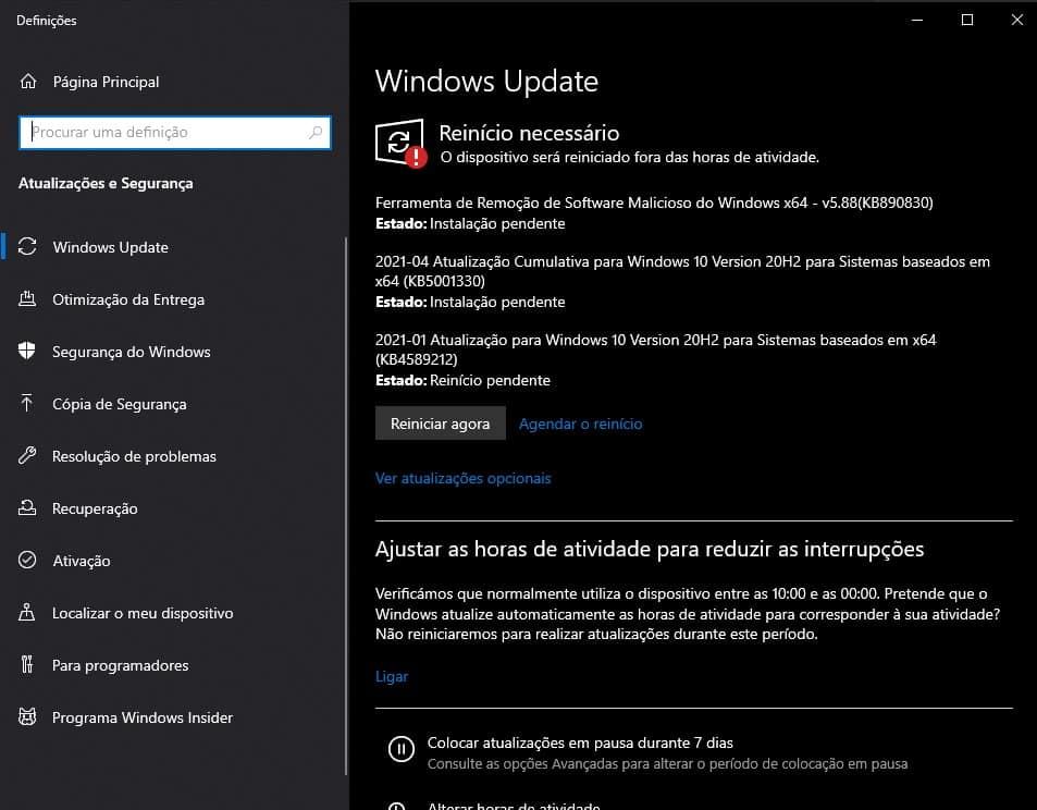 Windows 10 Emergency Update