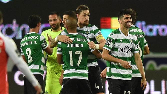 BOLA - Leão can match today the best chain ever (Sporting)