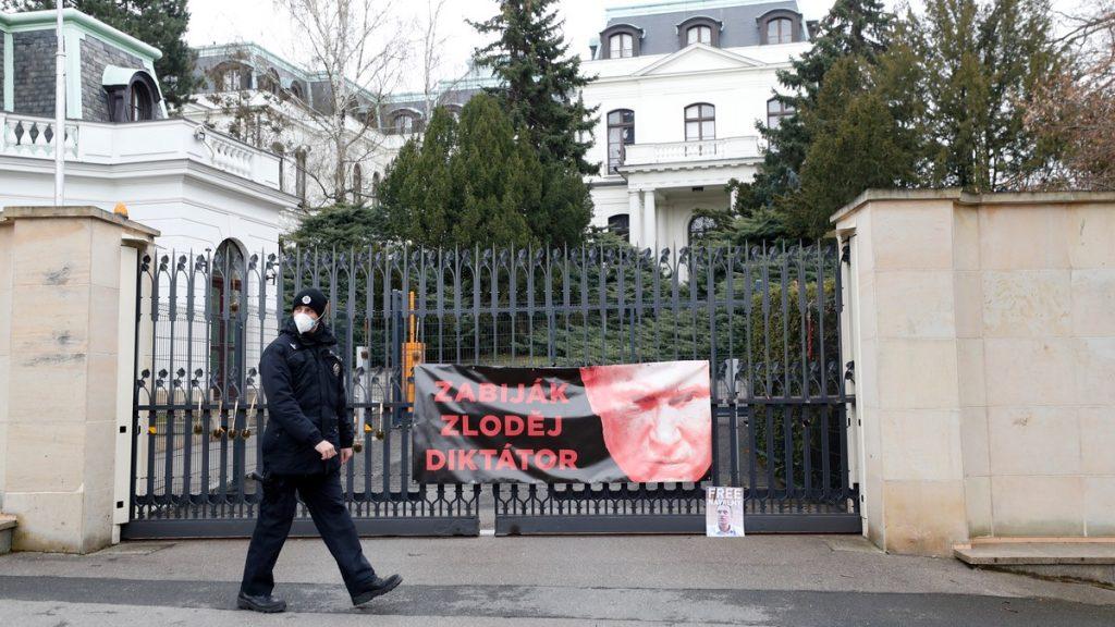 Den russiske ambassaden i Tsjekkia
