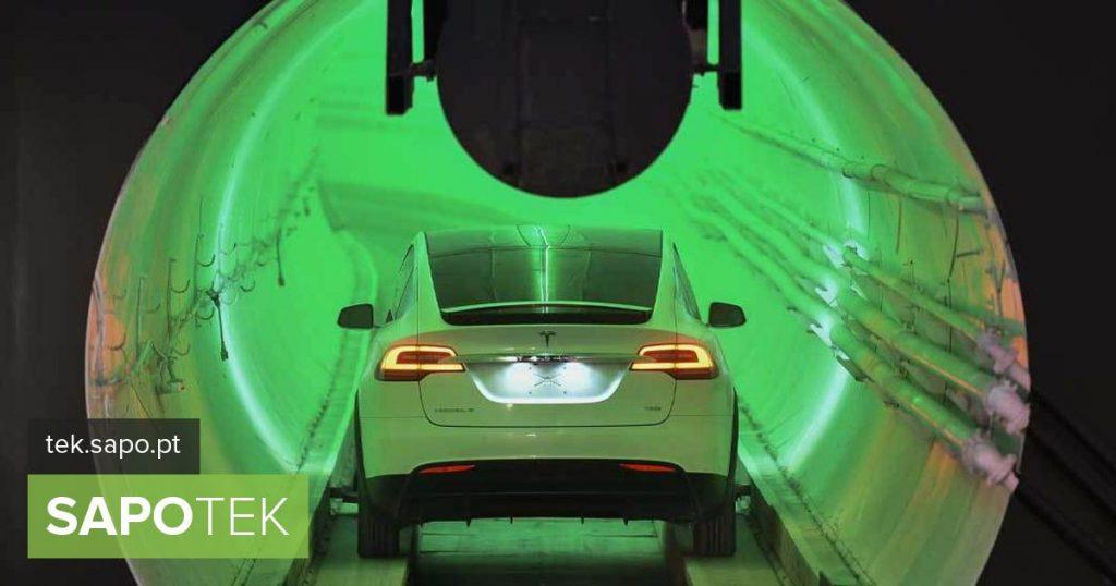 Elon Musk unveils an exclusive vision of the Las Vegas Underground Transportation System - Multimédia