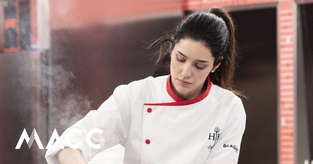 """Hell's Kitchen.""  Daniela reveals the reason for her surrender.  ""I had an ovarian cyst that was bursting"" - TV"