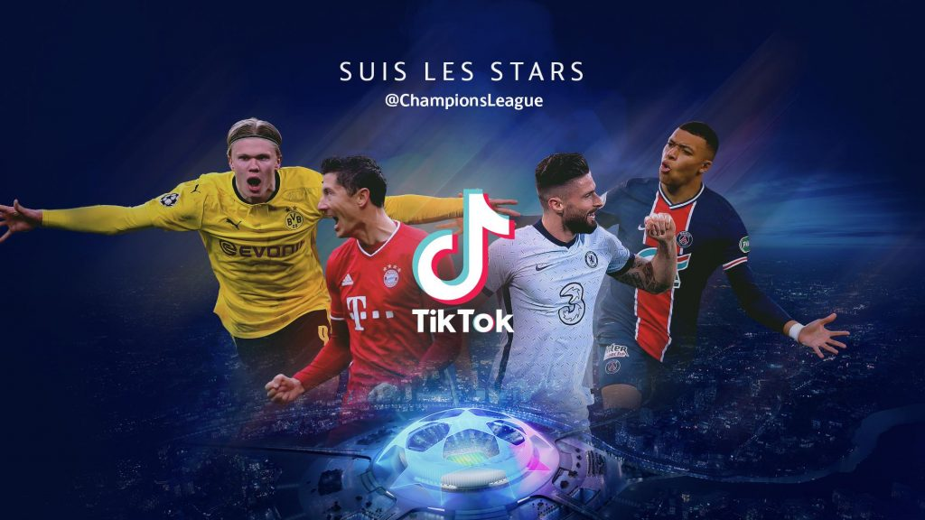 In the Champions League Dictok |  UEFA Champions League