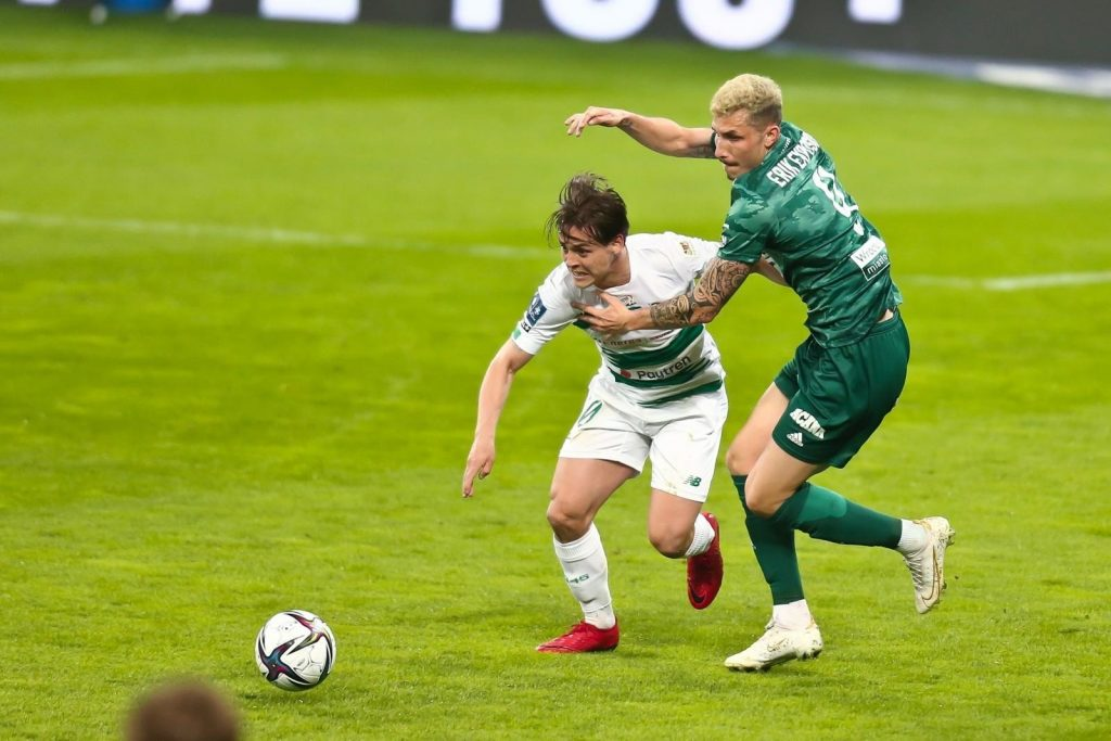 Ląsk Wrocław - Lechia Gdańsk 10/04/2021 White and greens are not satisfied after the draw, Tomas Magovsky with a premiere goal [zdjęcia]