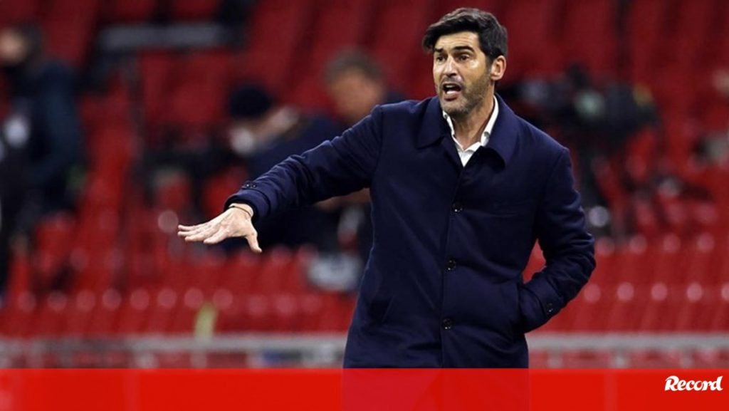 """Paulo Fonseca after qualifying in the European League: """"I don't know if I will be here for this year"""" - Roma"""