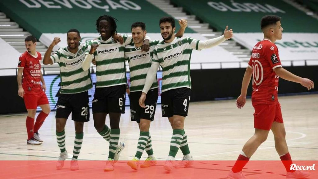 Sporting won Casinas in the historic match of Joao Matos - futsal