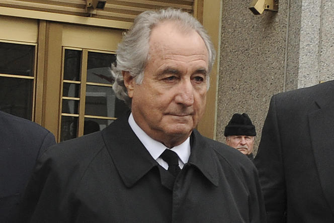 Bernard Madoff walked out of Manhattan Federal Court in New York on March 10, 2009.