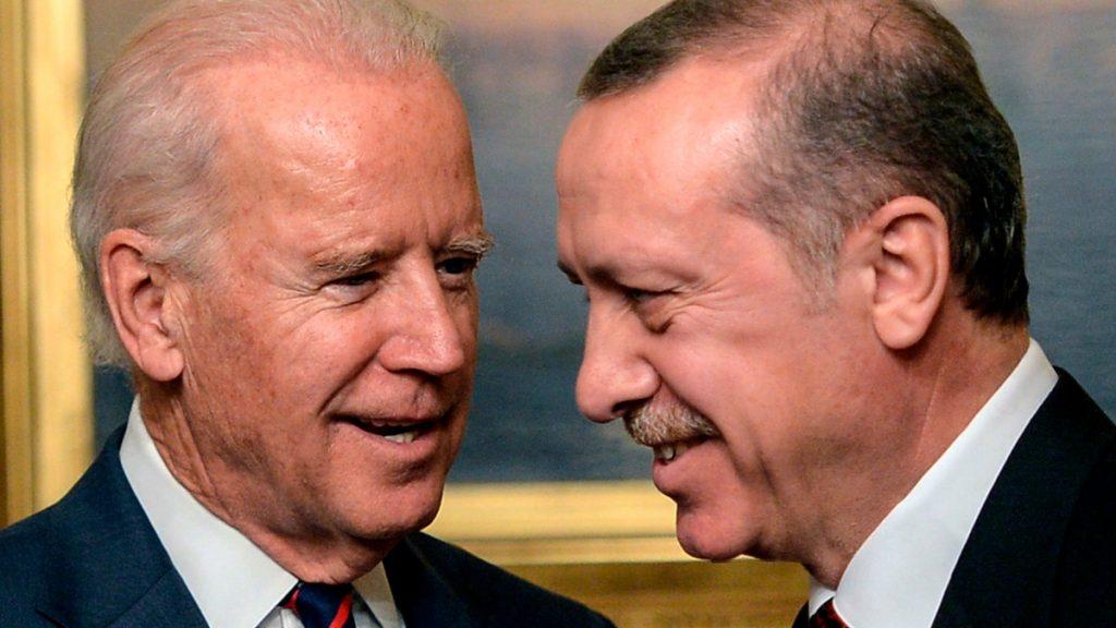 Biden og Erdogan