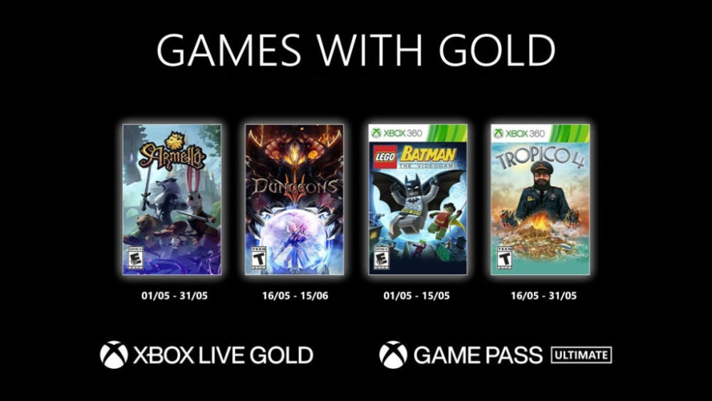Releases on Xbox Live Gold: Upcoming Games May 2021