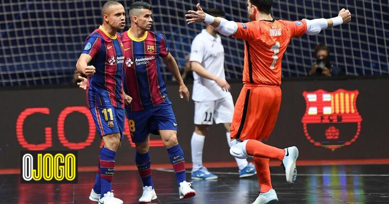 Barcelona is Sporting's opponent in the Champions League final