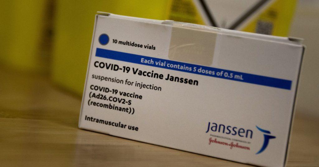 Denmark: - Janssen dropper vaccine