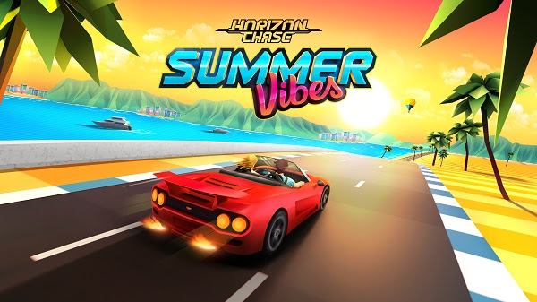 """DLC """"Summer Vibes"""" and """"Carro da Firma"""" are now available in the mobile version of Horizon Chase!"""