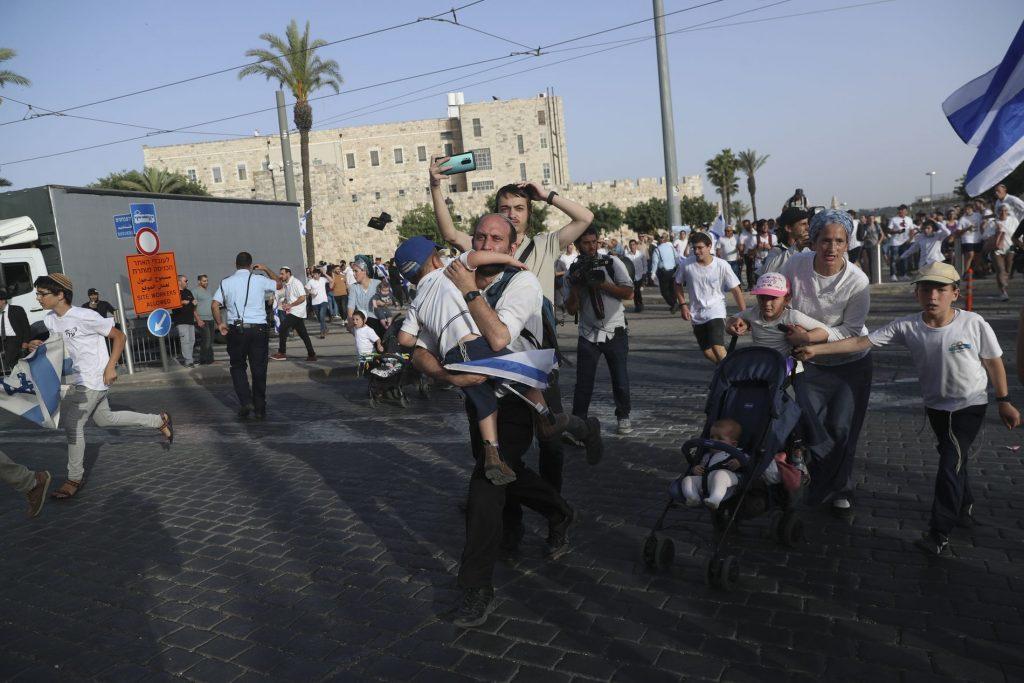 Hamas rocket attack on Jerusalem - Israel responds to the attack - VG