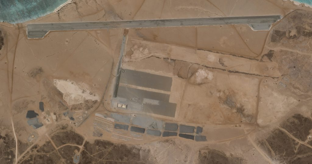 Mysterious Air Force Base: Declines to answer