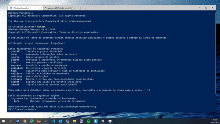 Windows 10 Microsoft Application Installer