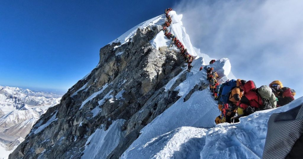 Set a new record for Mount Everest