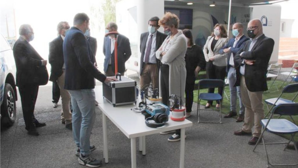 Beja EMAS presented the Center for Water Sciences