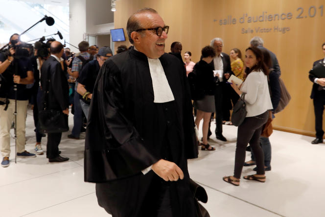 Bernard Toby's lawyer, Herv Demim, appeared in Paris on July 9, 2019, after announcing the release of his client in the arbitration case of his dispute with Credit Leona.