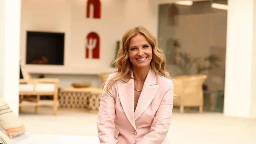 """Good day this,"" Cristina Ferrera said after TVI's great achievement"