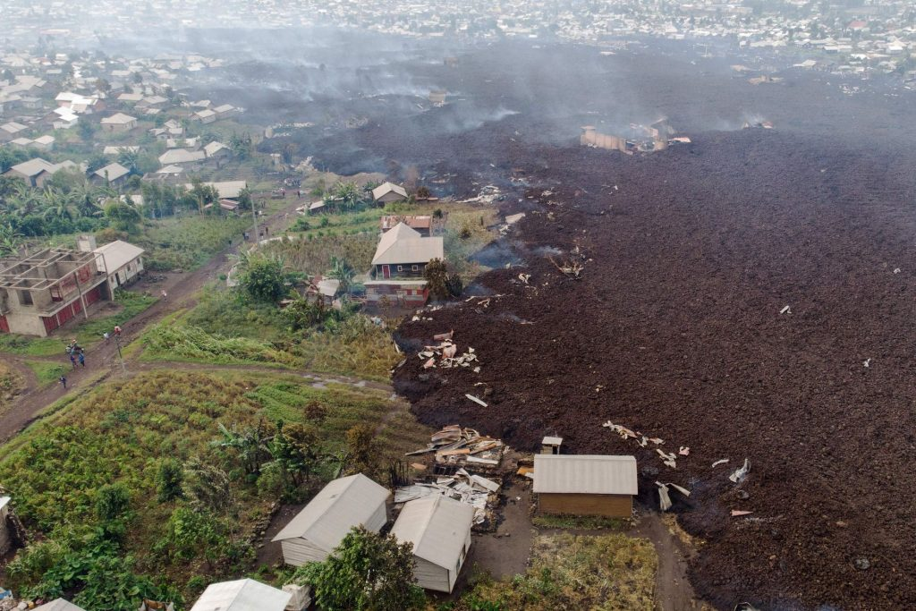 More than 170 children are missing after volcanic eruptions in the Congo - VG