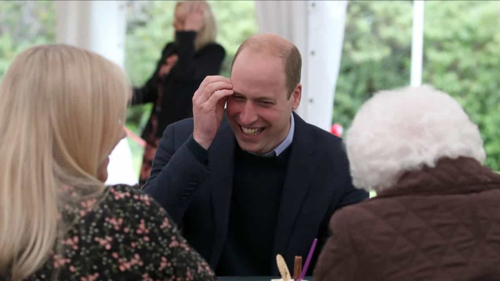 """Prince William said to an elderly woman: """"It would make me ashamed."""""""