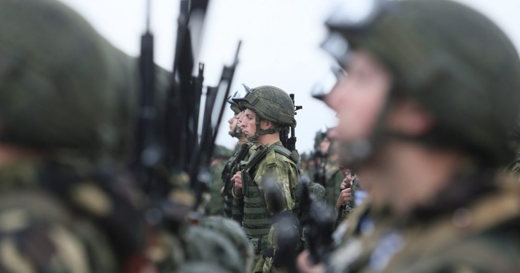 Russia strengthens its military on the border with Poland