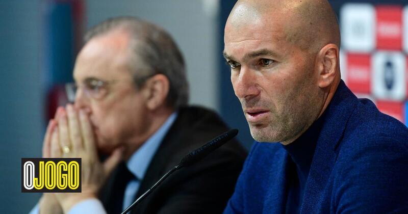 Zidane explains Florentino Perez leaving Real Madrid with shrapnel