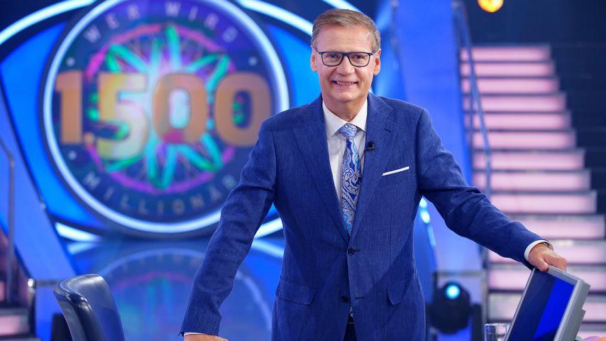 """குந்தர் ஜாச், """"Who wants to be a millionaire?""""-Moderator"""