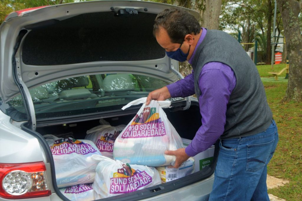 Solidarity vaccination: donated food reaches the entities registered with Funss