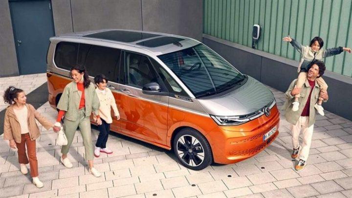 """Volkswagen Multivan T7: A. """"loaf"""" Arrived from Volkswagen"""