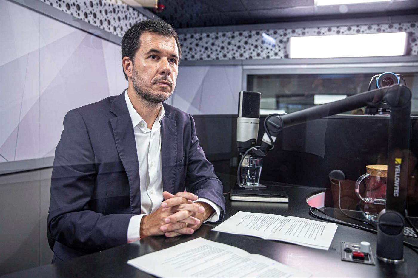 Pedro Capitao, Director of Hotel Management at Sonae Capital at TSF Studios in June 2021