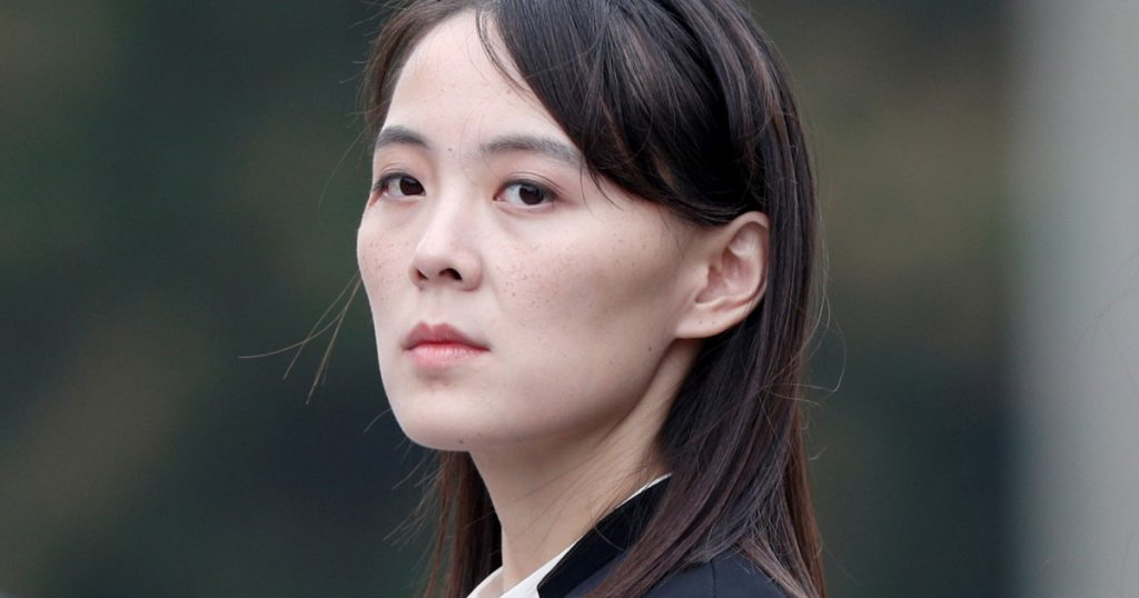 Kim Jong-un's sister: - The hopes of the United States are shattered