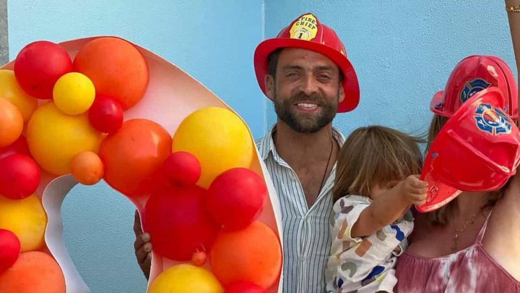 Birthday party for Jessica Athaide and Diogo Amaral's son