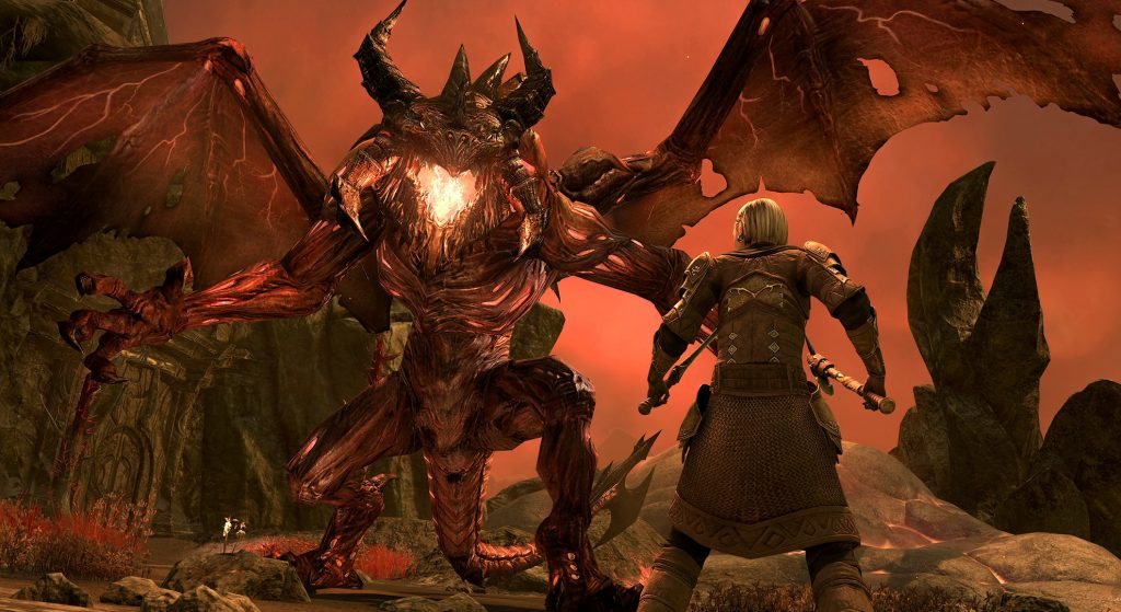 """""""Blackwood"""": A new chapter of """"The Elder Scrolls Online"""" is available for PC متاح"""