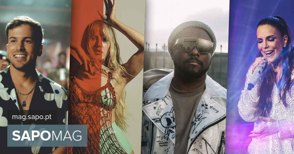 Ellie Goulding, Black Eyed Peas, Yvette Sangallo and David Carrera at the 2022 edition of Rock in Rio Lisboa - showbiz