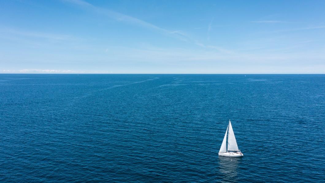 Sea: The Adriatic Sea cools people down in Croatia.