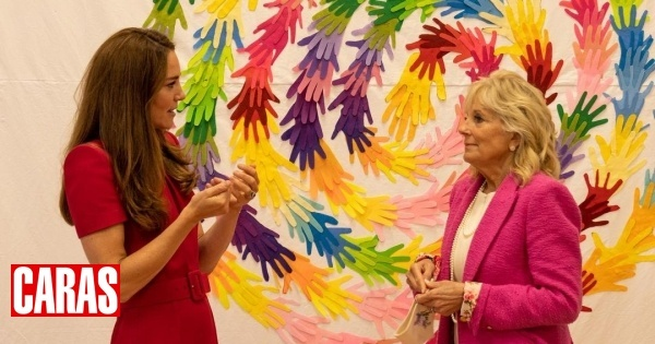 Kate talks about her niece Lily, daughter of Harry and Meghan, meeting Jill Biden