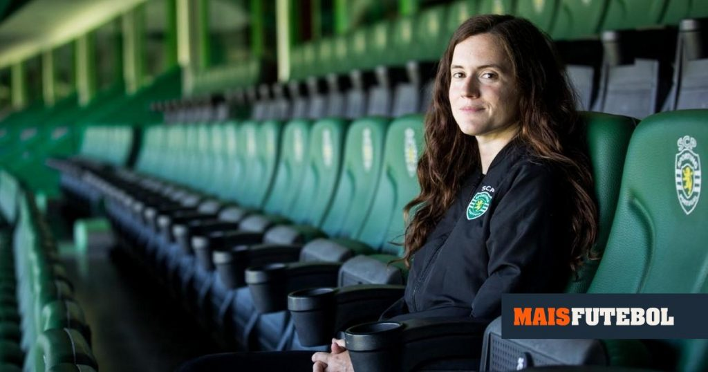 Mariana Cabral takes charge of the Sporting women's team