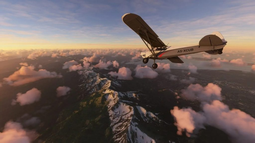 Microsoft Flight Simulator and Forza Horizon 5 are brutal!  a look