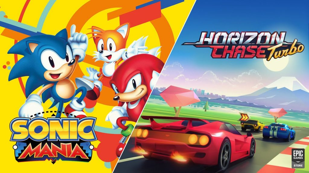 Sonic Mania and Horizon Chase Turbo are available for free on the Epic Games Store