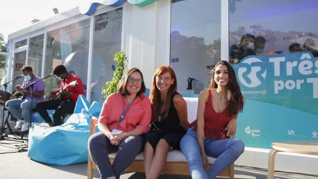 The radio marathon for Joanna Márquez, Anna Galvão and Philippa Galrao is over